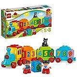 LEGO10847DuploTrendelosnúmerosSetdeConstrucciónEducativoconGrandesLadrillos