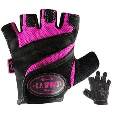 Lady-Gym-Fitnesshandschuh , Damen , Frauen S Pink (verschiedene Farben) - 3