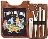 Tommy Bahama Herren Toiletry Travel Kit Hanging Bag with Zipper Pocket Kofferorganizer, Navy Casual, Einheitsgröße