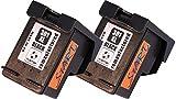 Start - 2 Cartuchos de Tinta Compatible con HP 301XL BK