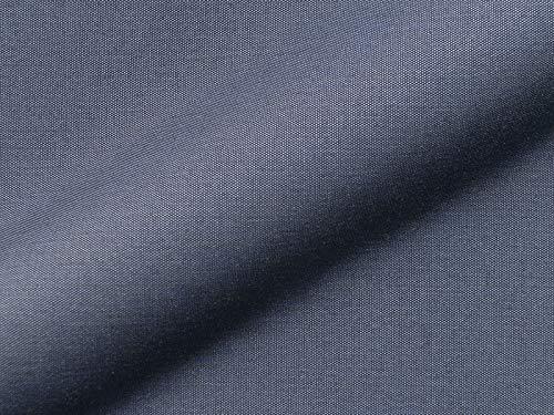 Raumausstatter.de Malta 765 Uni - Tela para muebles de exterior (tejido robusto, para coser y vestir, para interior y exterior con protección antimanchas), color azul