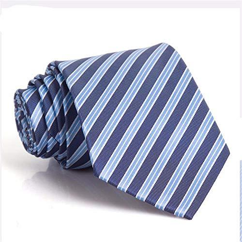 pyty123 Geschäfts-Vorstellungsgespräch-Kleiderabschluß Der Krawatte Der Männer, Der Rote Koreanische Bindung, Blaue Diagonale Heiratet