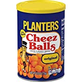 PLANTERS Cheez Balls Canister - Nostalgia Flavor Cheese Snack - Shareable Snacks for Adults & Snacks for Kids - Bulk Snacks - Great Movie Snacks & & Game Day Snacks - Kosher,2.75 Ounce (Pack of 12)