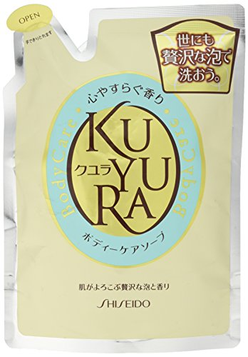 Shiseido KUYURA | Body Wash | Relax Fragrance Refill 400ml (japan import)
