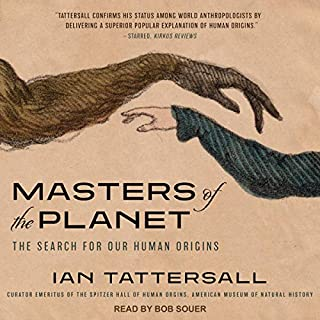 Masters of the Planet audiobook cover art