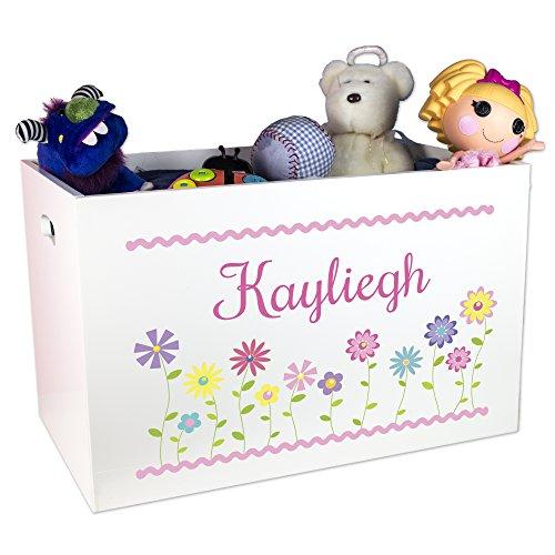 MyBambino Girl's Personalized Toy Box