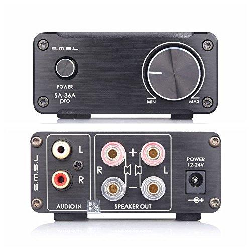 SMSL SA di 36A Pro Black Mini amplificatore audio digitale, Nero