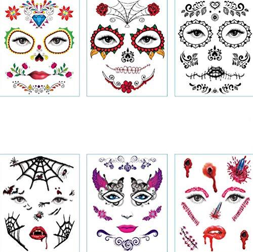 Etiquetas Engomadas Impermeables del Festival de la Etiqueta Engomada de Halloween para el Regalo, el Partido, el Truco o la Invitación