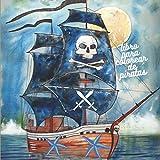 libro para colorear de piratas: libro para colorear de piratas para niños de 4/9 años para aprender a colorear-cuaderno educativo para niño y niña, ... y viajes para colorear de piratasid