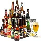 Assortiment ou Coffret de bières - Idée Cadeau - Bières du Monde - Pack de Bière - Noël - Cadeau de Noël (Coffret Autour du Monde - 17 bières)