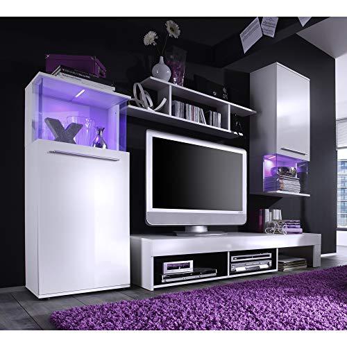 Wohnwand – Modern in weiß kaufen  Bild 1*