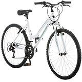 Roadmaster 26' Granite Peak Women's Bike | Rugged Trails and Path Riding (Black/White)