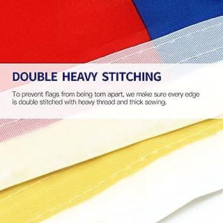 ارخص مكان يبيع Anley Fly Breeze 3x5 Foot American US Flag - Vivid Color and UV Fade Resistant - Canvas Header and Double Stitched - USA Flags Polyester with Brass Grommets 3 X 5 Ft