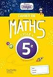 Cahier de maths Mission Indigo 5e - Mathématiques