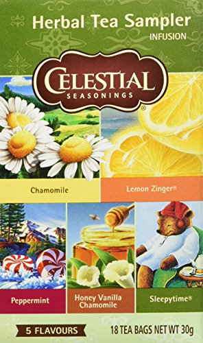 Celestial Seasonings Herb Tea Sampler, 6er Pack (6 x 27 g)