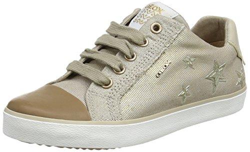 Geox Mädchen J Kilwi Low-top D Sneaker, Beige (Beige), 33 EU