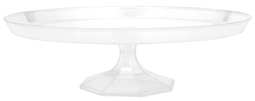 責任ディベート役立つClear Large Dessert Stand Food Tasting Party Tableware And Serveware, Plastic,