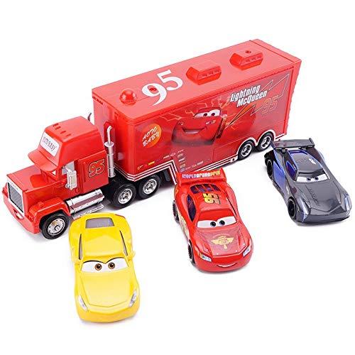 Disney Disney Pixar Cars 3 Lightning McQueen Jackson Storm Cruz Ramirez 95 Diecast Alloy Car Model Children's Day Gift Toy for Kids Boy MCQ Storm Cruz Unce