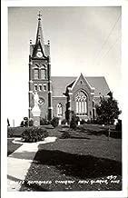 Swiss Reformed Church New Glarus, Wisconsin Original Vintage Postcard
