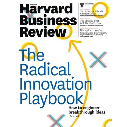 Harvard Business Review, October 2013 Titelbild