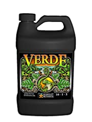 A well balanced verde growth catalyst Keeps plants healthy throughout their life cycle A premium growth supplement with 16 percent nitrogen, 1 percent phosphorus, and 2 percent potassium This is a great blend for plants experiencing periods of accele...