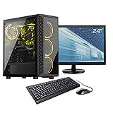 Sedatech Pack PC Gamer Advanced AMD Ryzen 3 1200 4X 3.1Ghz, Geforce GTX1050Ti 4Go, 8Go RAM DDR4, 500Go SSD NVMe M.2 PCIe, 1To HDD,...