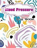 Blood Pressure Charting: Blood Pressure Logbook Size 8.5x11 Inches Matte Cover Design...