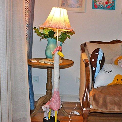 XIN staande lamp Creative Cartoon staande lamp Little Swan staande lamp kinderen 'S Geschenk Slaapkamer woonkamer staande lamp kinder' S kamer bedlampje