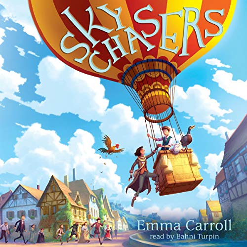 Sky Chasers audiobook cover art