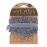 FitKicks FITWRIST Live Well Collection Women's Active Lifestyle Compact Wrist Wallet
