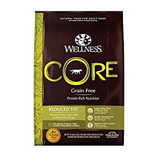 Wellness CORE Natural Grain Free Dry Dog Food, Reduced Fat, 12-Pound Bag (B000VTRI3C) | Amazon price tracker / tracking, Amazon price history charts, Amazon price watches, Amazon price drop alerts