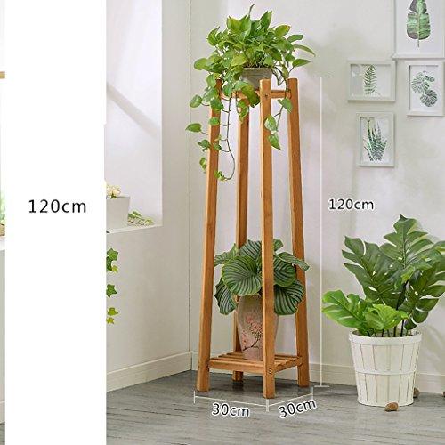 Racks de fleurs en bois solide Creative Platform Décoration de bureau Flower Stand Décoration Racks Plant étagères en bois massif fleur Racks (taille : C)