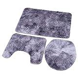 YYQTGG Bathroom Rug Set, Clean...