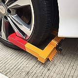 YORKING Reifenkralle Parkkralle Radkralle Anhänger PKW Wegfahrsperre Diebstahlsicherung für Auto Anhängersicherung