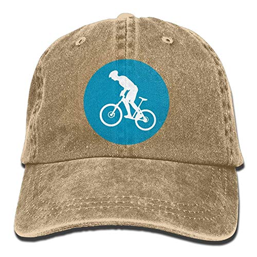 Gorgeous ornaments Baseball cap Mountain Bike Circle Icon Women Snapback Caps Adjustable Baseball cap