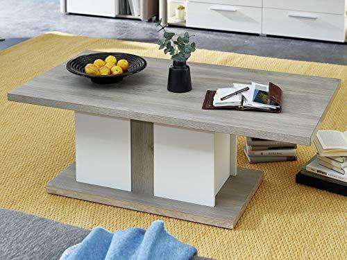 möbelando Couchtisch Wohnzimmertisch Sofatisch Kaffeetisch Holztisch Tisch Katerine I