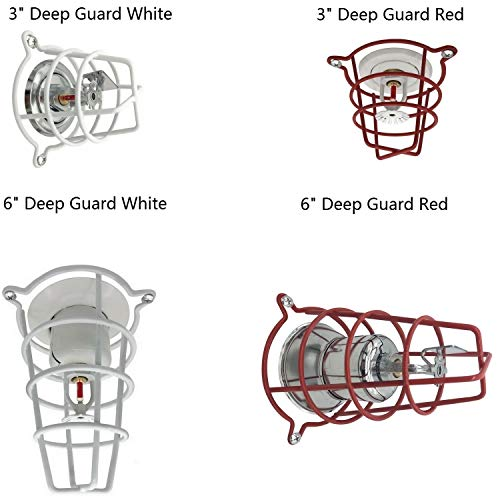 Happy Tree (2 Pack) Fire Sprinkler Head Guard Cage for 1/2