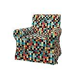 Soferia - IKEA EKTORP JENNYLUND Funda para sillón, Mozaik Red