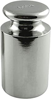 American Weigh Scales Calibration Weight for AWS Digital Scale, Carbon Steel, Chrome Finish, 500G (500WGT)