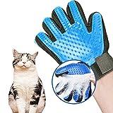 FPXNBONE Gentle Pet Hair Remover Glove,Pet Silikon-Bürstenhandschuhe,Pet Grooming Comb Bad Reinigungshandschuhe-rechteHand,Pet Grooming Glove Brush