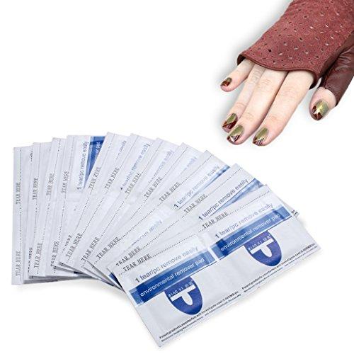 Nagellack-Entferner-Verpackungen, schnell & schonend weg tränken Acryl-UV-Gel-Nagellack,...