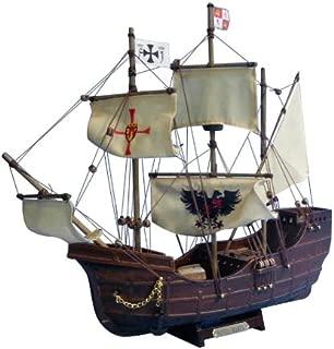 Hampton Nautical Santa Maria with Embroidery Ship, Limited Edition, 14