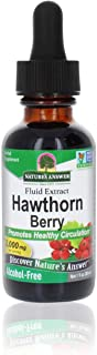Nature's Answer Hawthorn Berries | Promotes Healthy Circulation Function | Helps Maintain Healthy Cholesterol Levels | Glu...