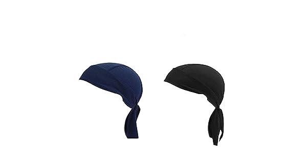 DW Men Bandana,Breathable Beanie Hip Hop Head Scarves Caps Face Wrap Bandana Cycling Motorcycle Sports Pirate Scarf Hat