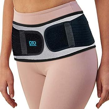 Sacroiliac Hip Belt for Women & Men That Alleviate Sciatica Lower Back & Lumbar Pain Relief Diamond Back Brace Provides SI Joint Pelvic Support Nerve Compression & Stability Anti-Slip  Regular Size