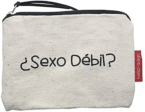 Econanos Hellobags2019 Strandtasche, 14 cm, Weiß (Blanco)