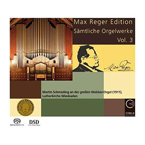 Max Reger Edition: Complete Organ Works 3 by M. REGER