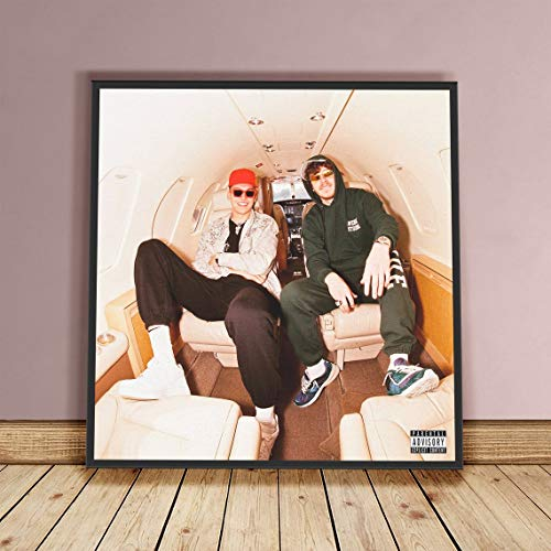 Centiza Jack Harlow Poster - Tyler Herro Print Poster, Music Poster, Singer Star Posters, Rapper, Home Decor 17X17 Inch (No Frame)