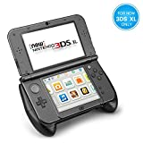 TNP New Nintendo 3DS XL Hand Grip Protective Cover Skin Rubber Controller Grip Case Ergonomic Comfort Anti...