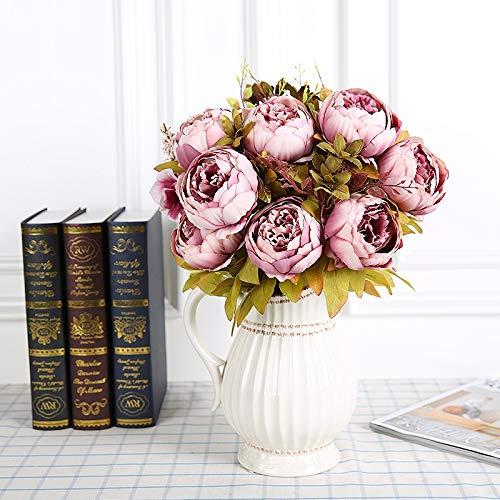 NA Hefeizanen Dekoration Blumentopf Ornaments Haus Retro Simulation Wohnzimmer-Dekoration Blume